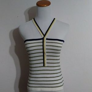 Vintage Yves Saint Laurent Paris Halter Top